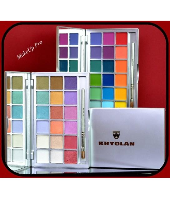 VARIETY Eye Shadow Palette,  18 Farben
