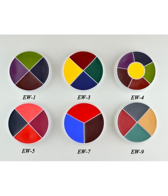 Ben Nye Professional Wheel 4 Farben28g