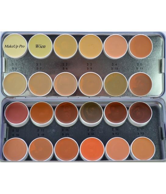 Camouflage Palette  24 Farben  80 g