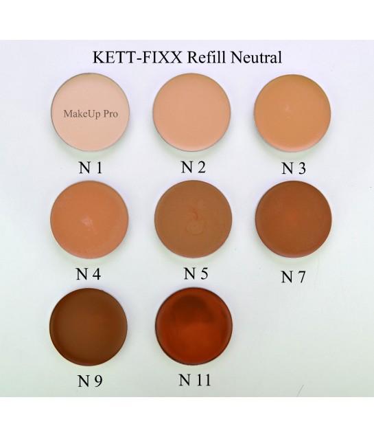 Kett Fixx Cream Make-up Paletten Nachfüllung