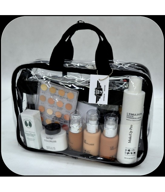 KATKIT ROAD Beauty Case, leer