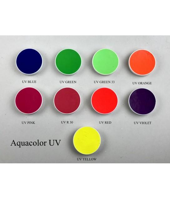 Kryolan Aquacolor Tagesleucht UV  Paletten Nachfüllung4ml