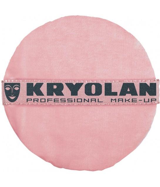 Kryolan Premium Puderqueste, rosa 8cm