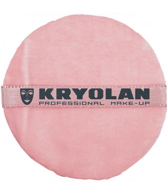 Kryolan Premium Puderqueste, rosa 10cm
