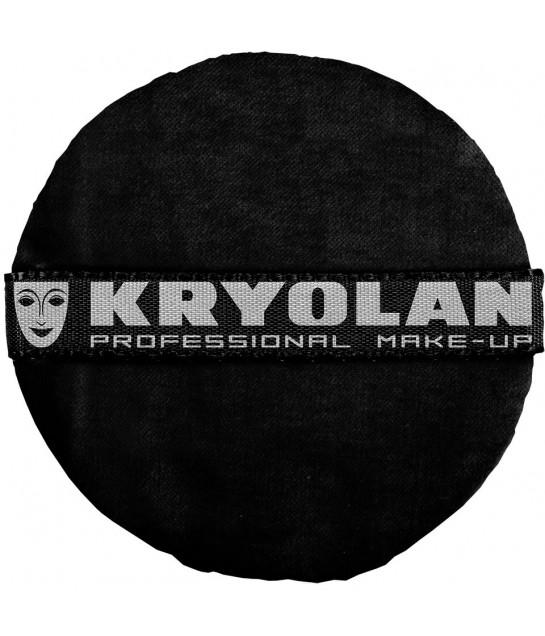 Kryolan Premium Puderqueste, schwarz8cm