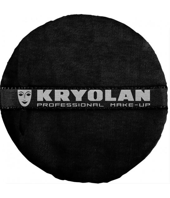 Kryolan Premium Puderqueste, schwarz 10cm