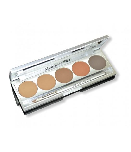 Kryolan Eyebrow Powder Set 5 Color