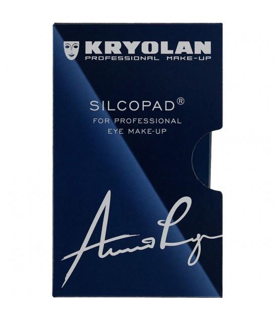 Kryolan Silcopad, Silicone Pads, 2 Stück
