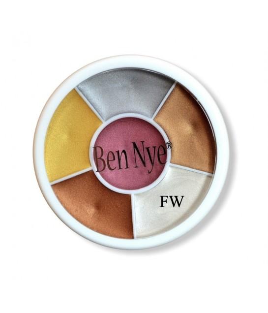 Ben Nye Fireworks Wheel, 6 Farben  28g
