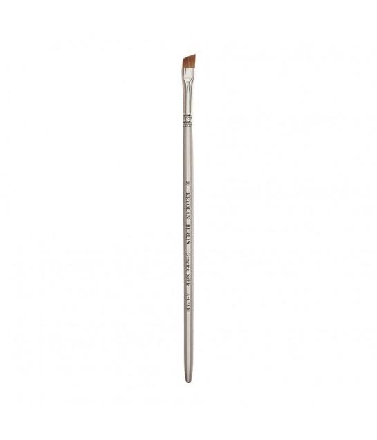 3810 Kryolan Professional Schminkpinsel,  flach/schräg chin.sable Haar