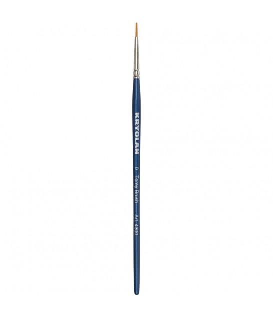4300 Kryolan Toray Schminkpinsel, rundToray syntheticfasern