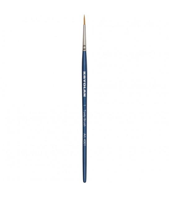 4301 Kryolan Toray Schminkpinsel, rundToray syntheticfasern