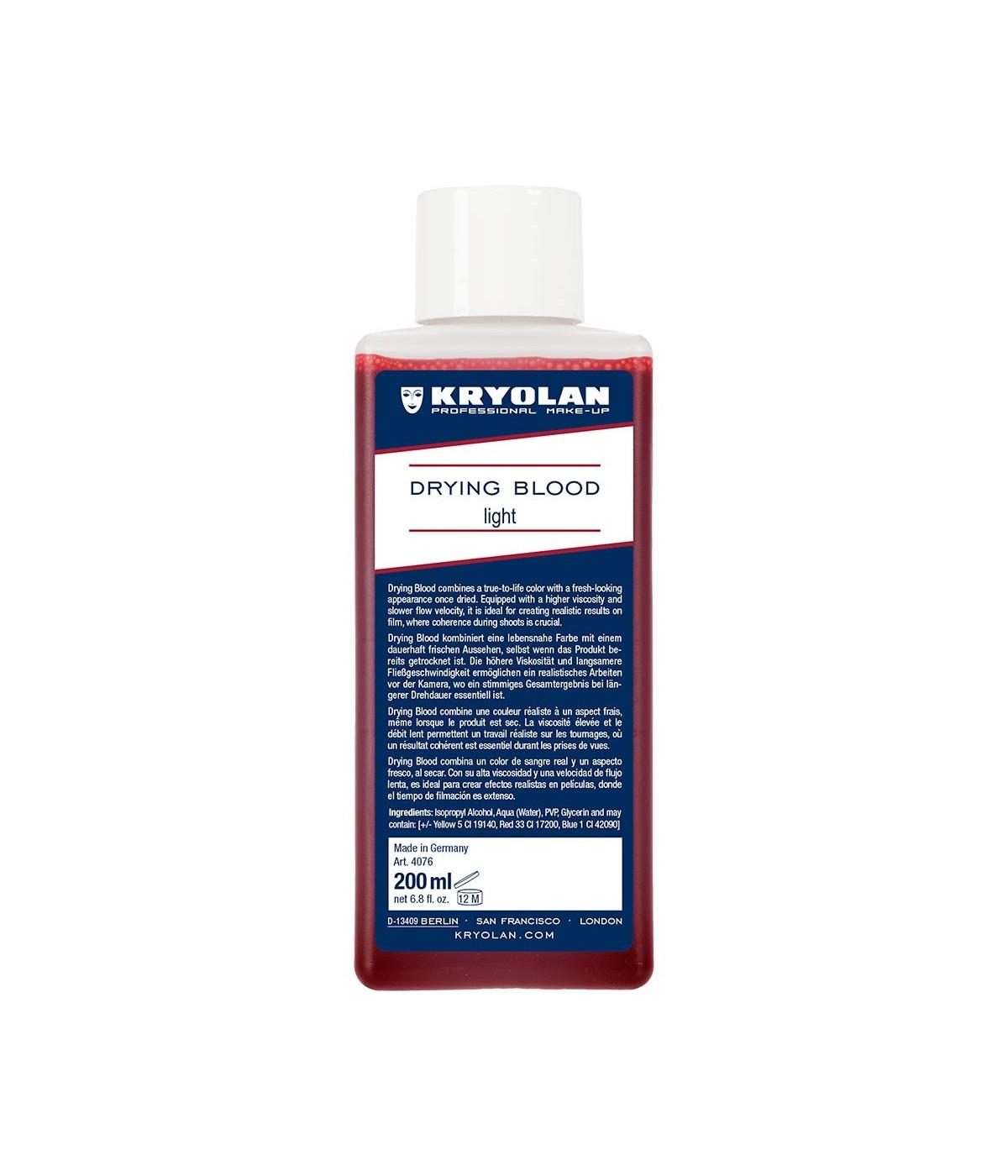 Kryolan Drying Blood, 200 ml Light