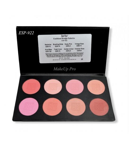 Ben Nye Powder Rouge Palette 8 Farben, 28g