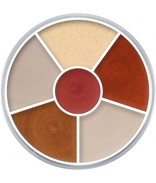 Kryolan Cream Color Circle Interferenz