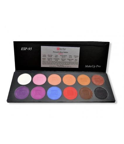 Ben Nye Eye Shadow Palette,  12 Farben