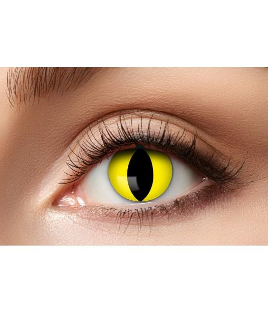 Fun lenses  Yellow-Cat 601
