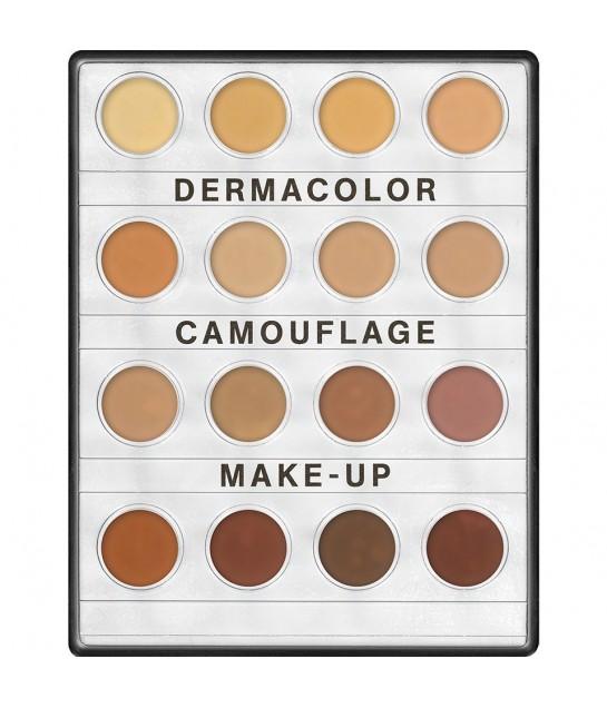 Dermacolor Camouflage Creme Mini Palette 16 Farben