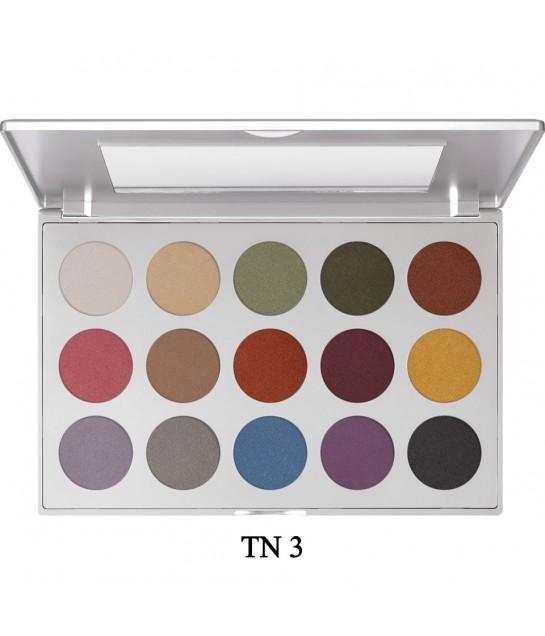 Kryolan Professional  Eye Shadow Set 15 Farben  37,5g