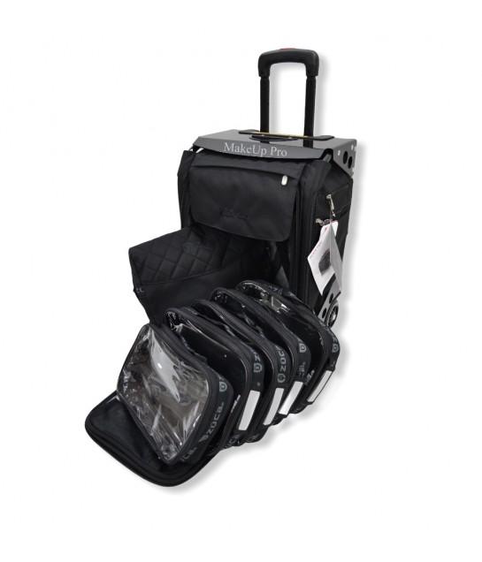 Züca Flyer Artist Bag Black-Black