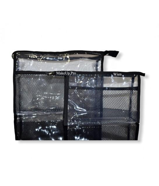 MakeUp Pro Transparent Bag, klein