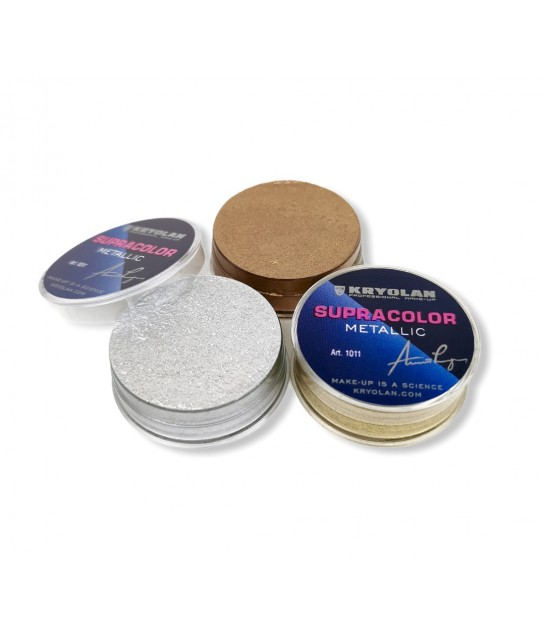 Kryolan Supracolor Teintschminke, metallic 8 ml