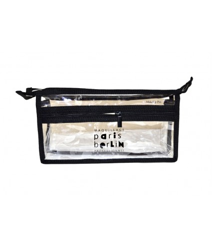 Paris Berlin Transparent Bag, 280 x 150mm