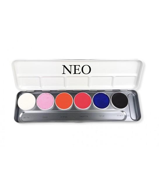Aquacolor Tagesleucht Palette
