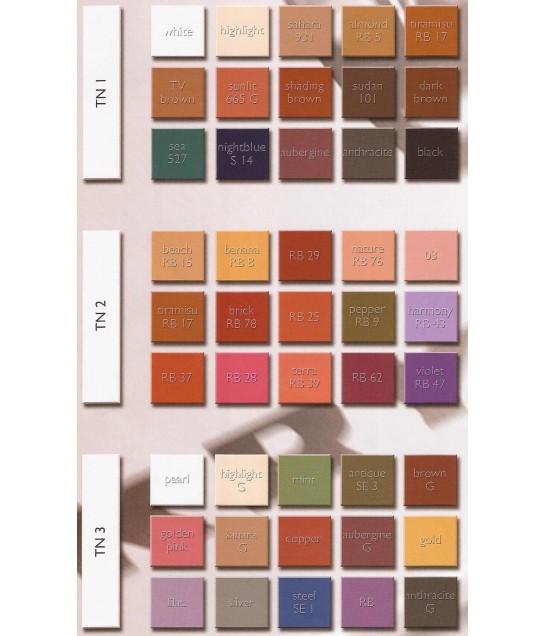 Kryolan Professional  Eye Shadow Set 15 Farben37,5g